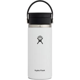 Hydro Flask Coffee Bidón con Tapa Sorbo Flex 473 ml, blanco